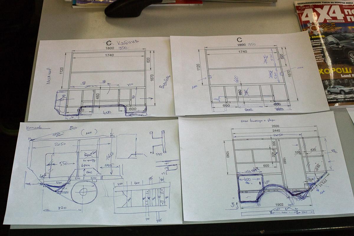 как построить жилой модуль на пикап