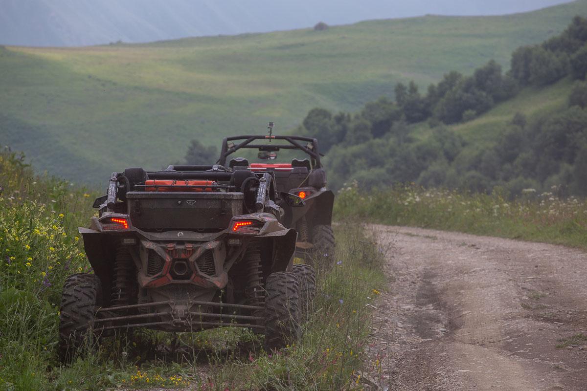 квадроциклы сопровождение Кавказ